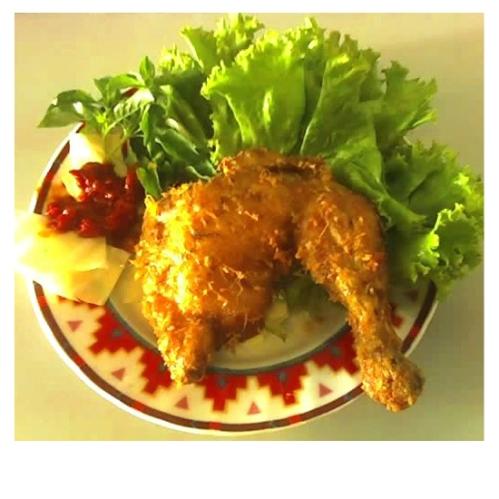 Pecel Ayam